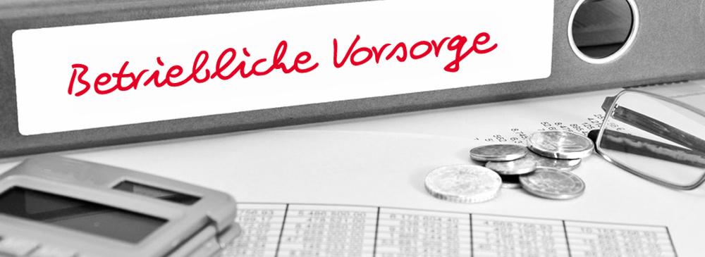 VORSORGE-Betriebbanner
